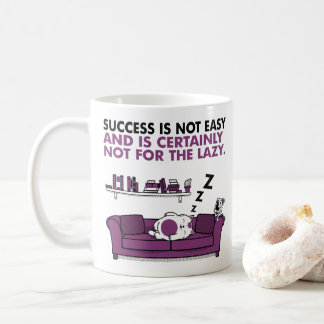 Taza De Café El éxito no es fácil