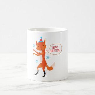 Taza De Café ¡El Fox dice Felices Navidad!