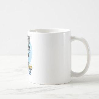 Taza De Café ¡El gato loco reducido de la rotura!