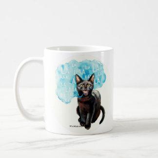 Taza De Café El gato que habla dice