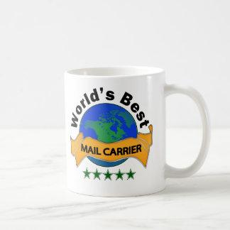 Taza De Café El mejor cartero del mundo