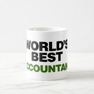 Taza De Café El mejor contable del mundo
