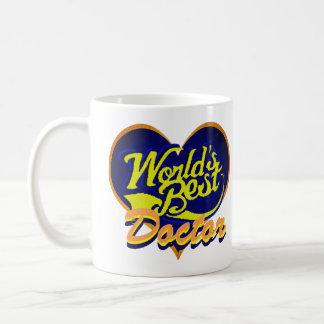 Taza De Café El mejor doctor del mundo