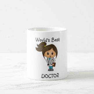 Taza De Café El mejor doctor del mundo - imagen triguena