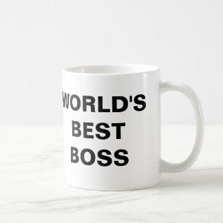 Taza De Café El mejor jefe del mundo