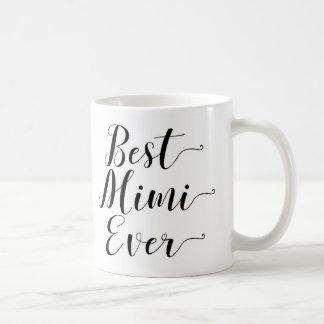 Taza De Café El mejor Mimi nunca