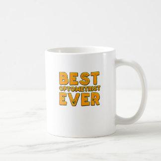 Taza De Café El mejor optometrista nunca
