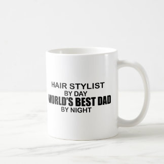 Taza De Café El mejor papá del mundo - estilista