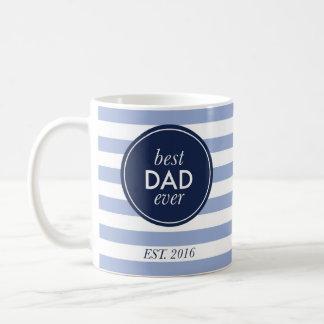 Taza De Café el mejor papá nunca est. 2016