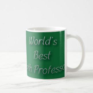 Taza De Café El mejor profesor de la matemáticas del mundo