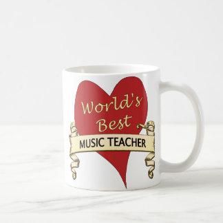 Taza De Café El mejor profesor de la música del mundo