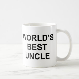 Taza De Café El mejor tío del mundo