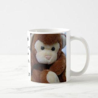 Taza De Café El Monkeying alrededor