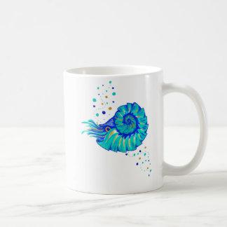 Taza De Café El nautilus de Neptuno