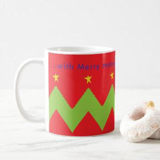 """Taza De Café El navidad asalta """"… feliz más Christmases a venir"""