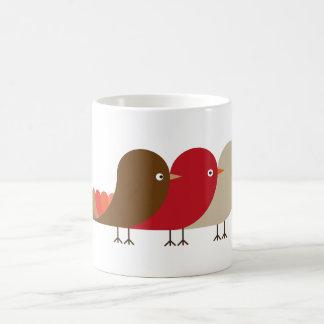 Taza De Café El pájaro rojo