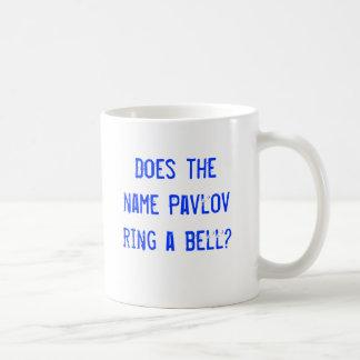 Taza De Café ¿El Pavlov conocido suena una campana?