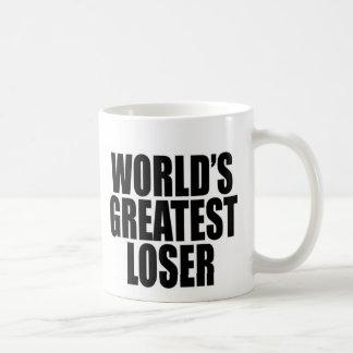 Taza De Café El perdedor más grande del mundo