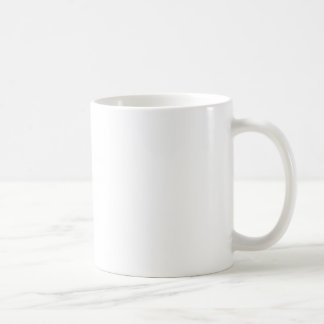 Taza De Café El personalizar fácil en blanco de la PLANTILLA