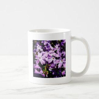 Taza De Café El remiendo púrpura de la flor