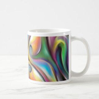 Taza De Café El remolinar colorido transiciones suavemente