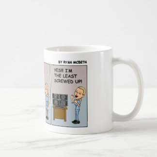 Taza De Café El residente Menos-Atornillado-Para arriba