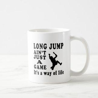 Taza De Café El salto de longitud no es apenas un juego que es