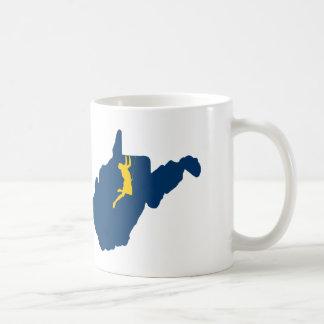 Taza De Café El subir de Virginia Occidental