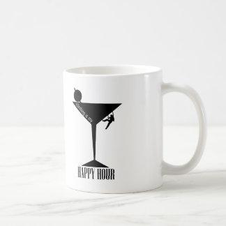 Taza De Café El subir es mi hora feliz