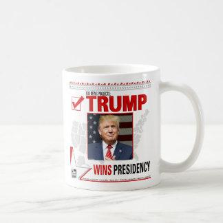 Taza De Café El triunfo gana presidencia