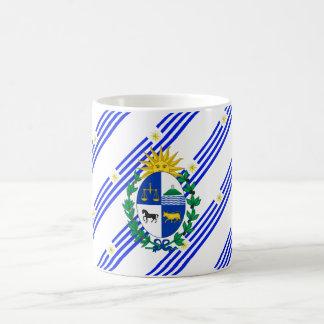 Taza De Café El Uruguayan raya la bandera