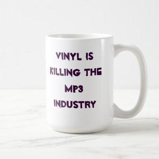 Taza De Café El vinilo está matando a la industria MP3