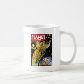 Taza De Café El volar en la galaxia