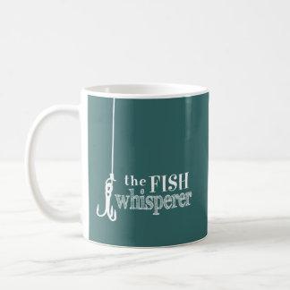 Taza De Café El Whisperer de los pescados (colores adaptables)