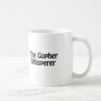 Taza De Café el whisperer del Gopher