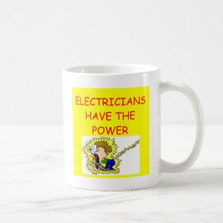 TAZA DE CAFÉ ELECTRICISTA