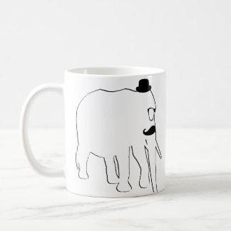 Taza De Café Elefante blanco