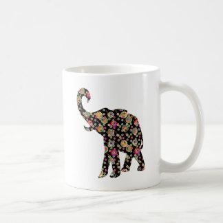 Taza De Café Elefante del Hippie