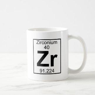 Taza De Café Elemento 040 - Zr - circonio (lleno)