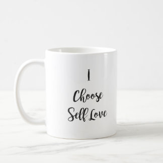 Taza De Café Elijo amor del uno mismo