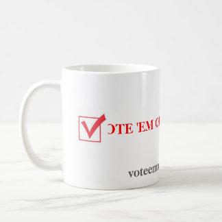Taza De Café Em hacia fuera 2012 del voto