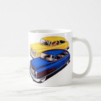 Taza De Café Embajador retro Art de Nash del coche del kitsch