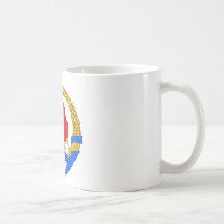 Taza De Café Emblema socialista de República Federal de