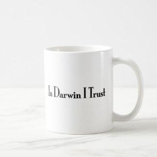 Taza De Café En la confianza de Darwin I