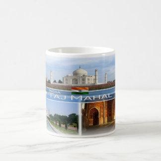 Taza De Café EN la India - el Taj Mahal -