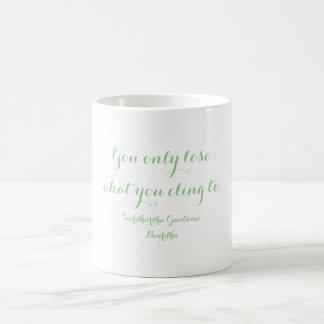 Taza De Café En qué usted se aferra