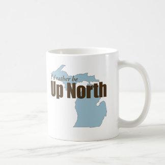 Taza De Café Encima del norte - Michigan