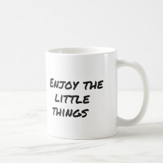 Taza De Café Enjoy little things Mug