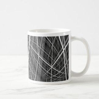 Taza De Café enrejado cúbico