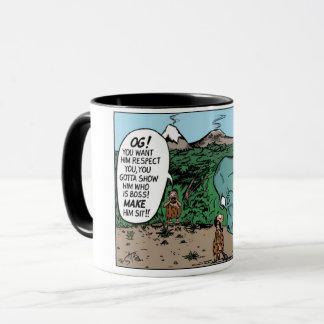 Taza de café - entrenamiento de la obediencia